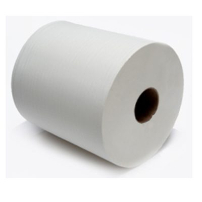 Industrial Wiper Roll White 2 Ply 375 metres