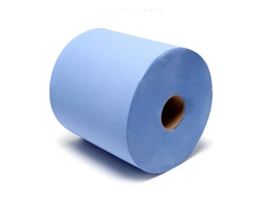 Industrial Wiper Roll Blue 2 Ply 375 Metres